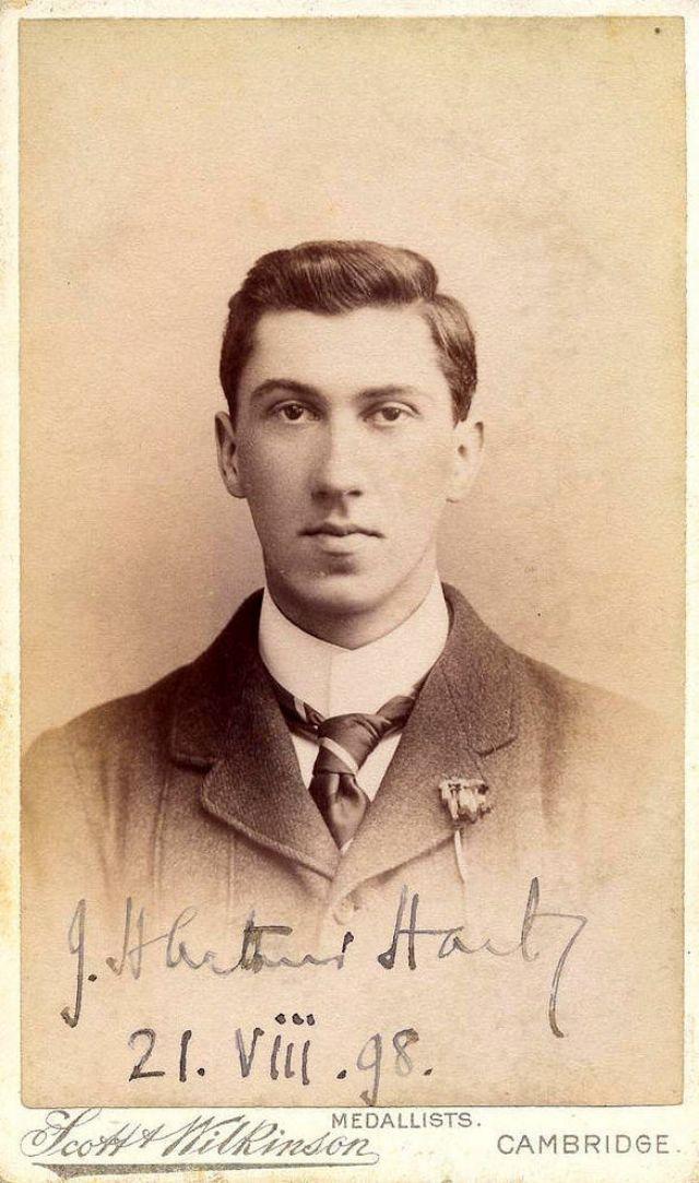 J.H. Arthur Hart, 21 August 1898
