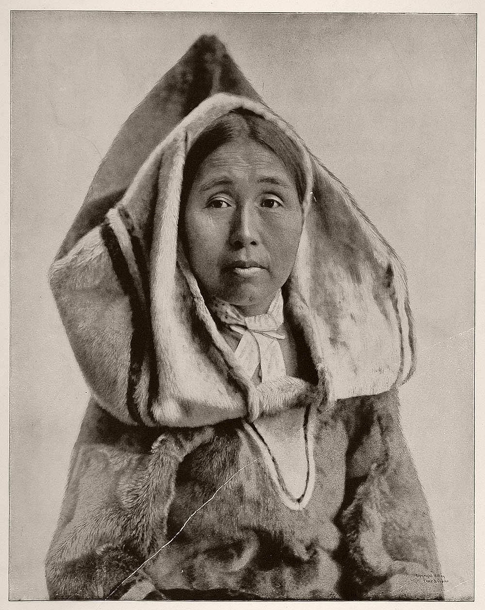 Mary Dookshoode Annanuck, an Eskimo woman.