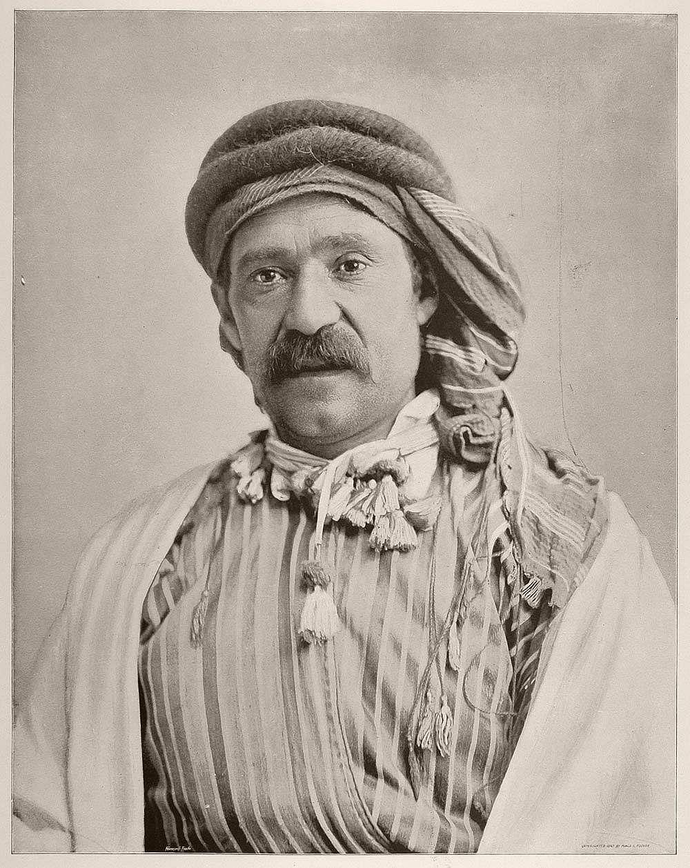 Hallad Abdalah, a Syrian Bedouin sheik.