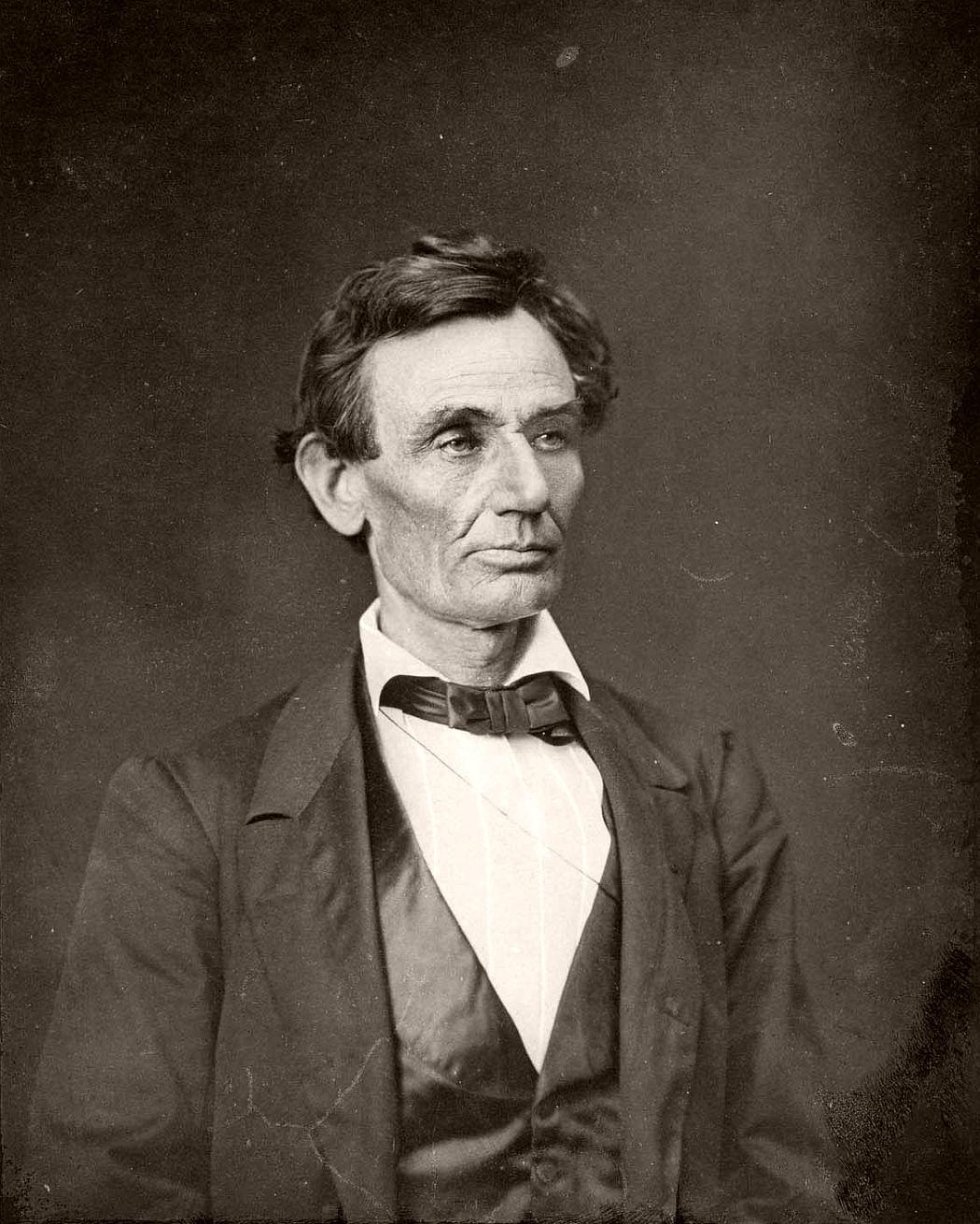 Abraham Lincoln by Alexander Hesler, 1860