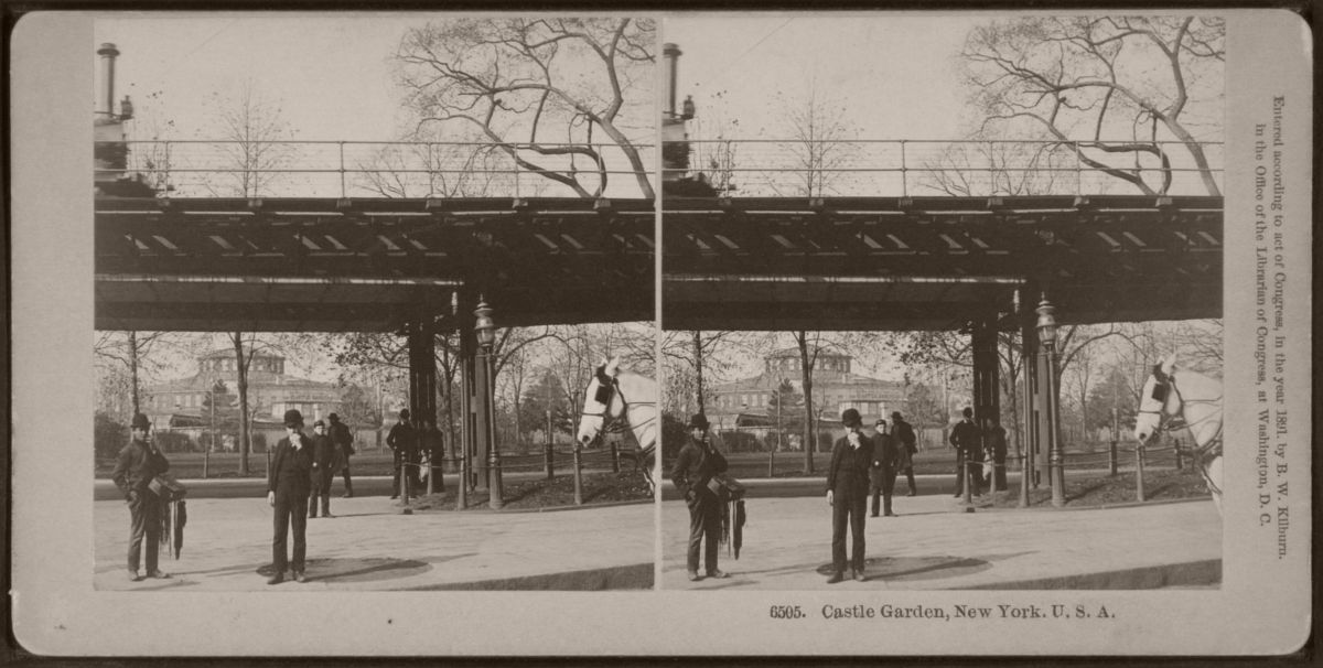Castle Garden, New York, 1891