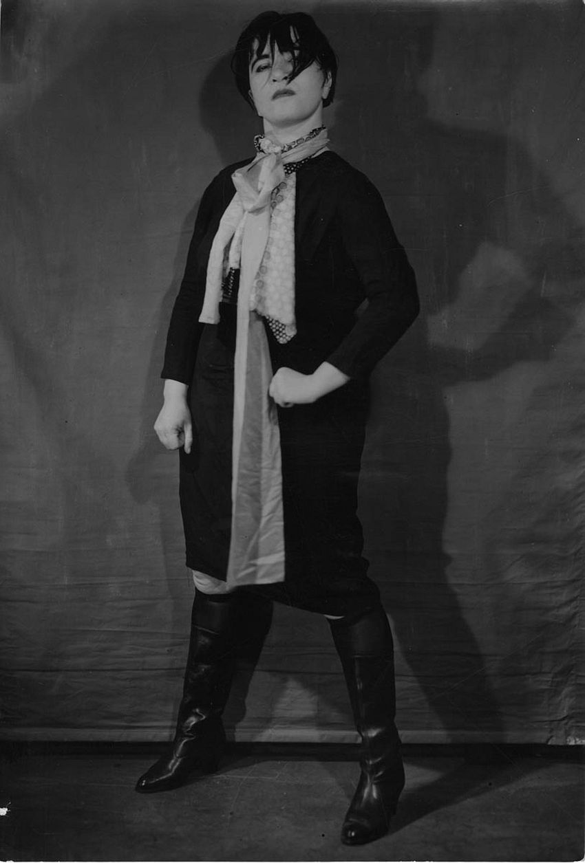 Valeska Gert: Berlin Underworld, 1934; Foto: William Davis. © William Davis, Courtesy Theaterwissenschaftliche Sammlung Universität zu Köln