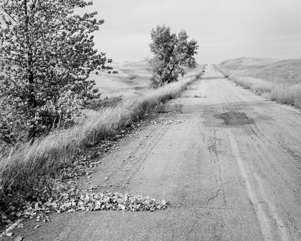 Nebraska State Highway 2. Box Butte County, Nebraska, 1978