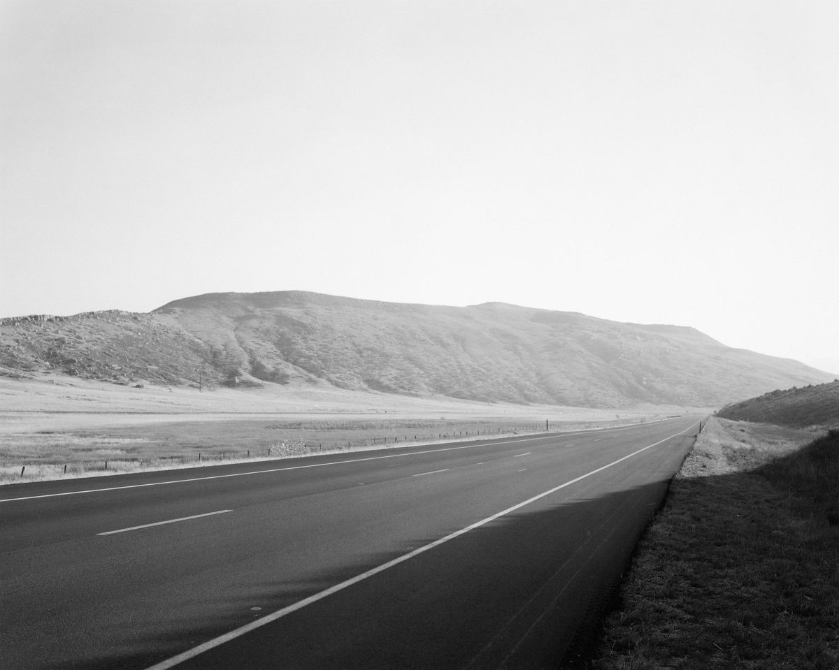 Along Federal Highway 287. North of Laporte, Larimer County, Colorado, 1977