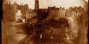 Vintage: Edinburgh, Scotland in Calotype (1840s)