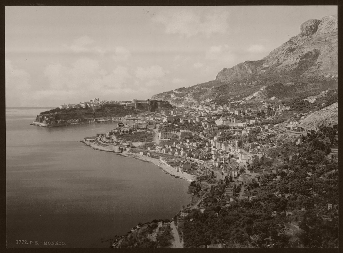 General view of the principality, Monaco, Riviera