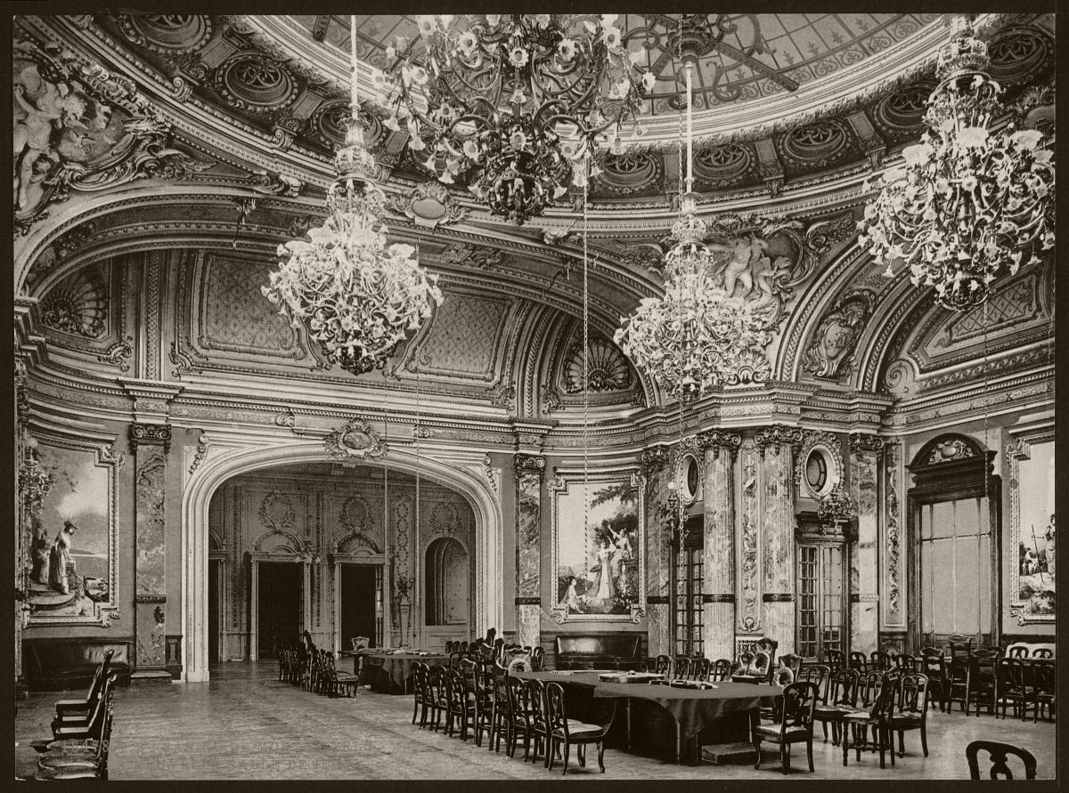 The new gambling room, Monte Carlo, Riviera