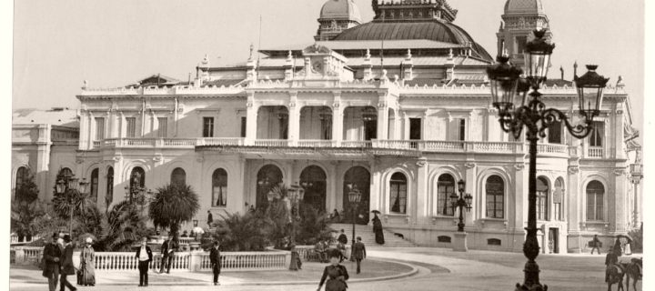 Vintage: Historic B&W photos of Monaco (1890s)