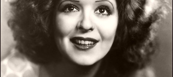 Vintage: Portraits of Clara Bow – Silent Movie Star