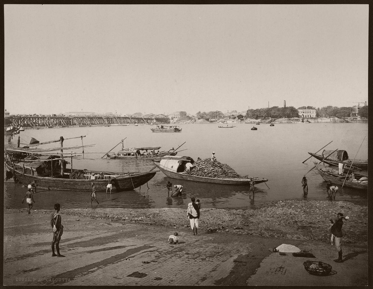 Calcutta. Nirmahal Ghat