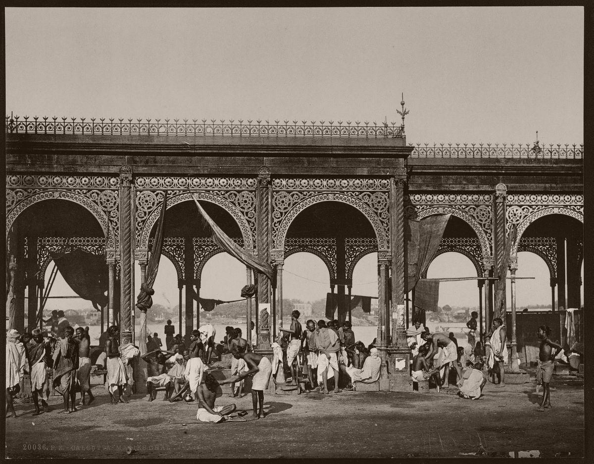 Calcutta. Maliks Ghat
