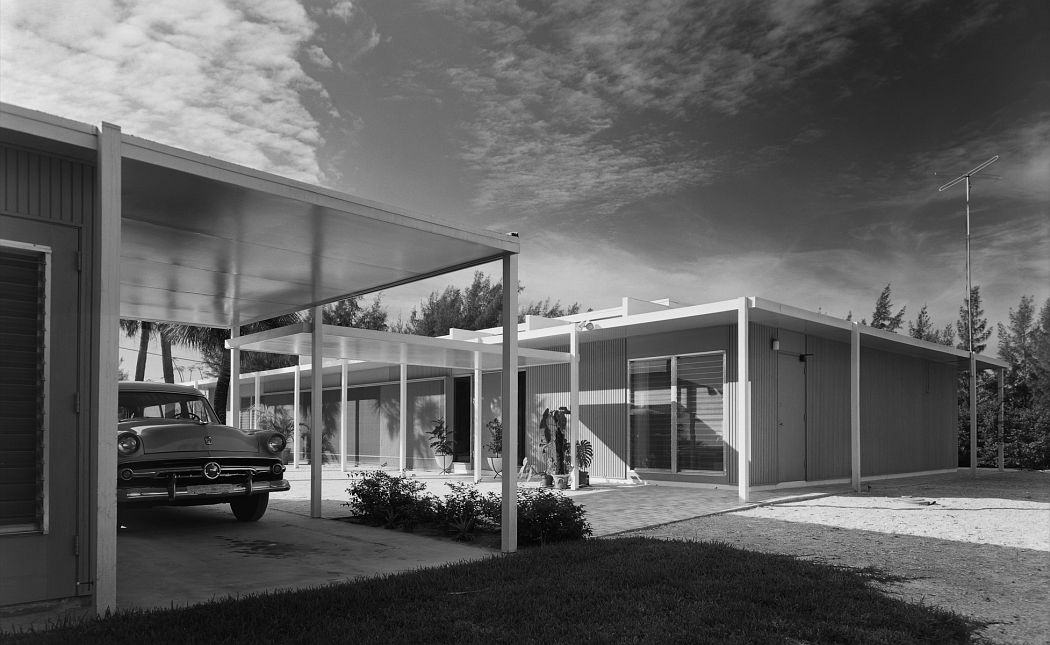 Ezra Stoller Cohen House. Paul Rudolph. Siesta Key, FL, 1955 © Ezra Stoller, Courtesy Yossi Milo Gallery, New York