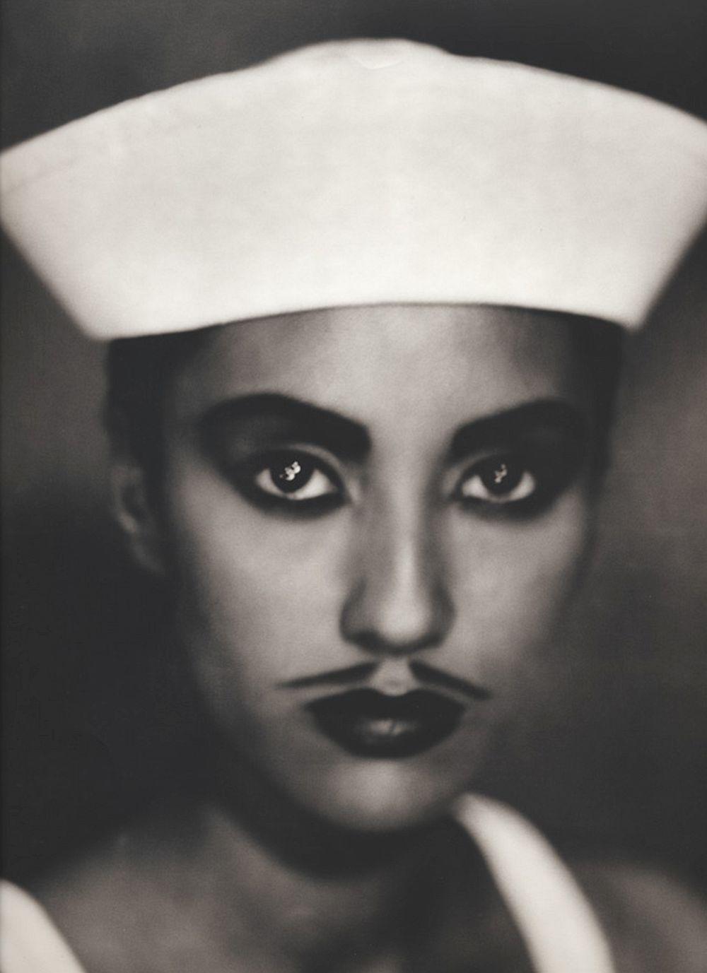 "Gerri (Sailor), 1992 8"" x 10"" Polaroid"