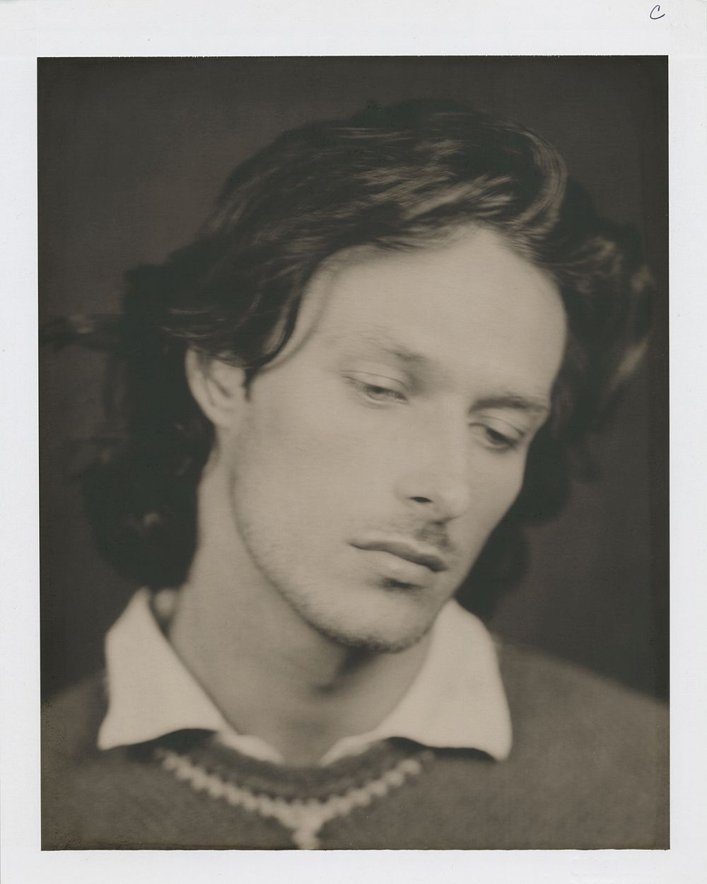 "Albert, 1994 8"" x 10"" Polaroid"