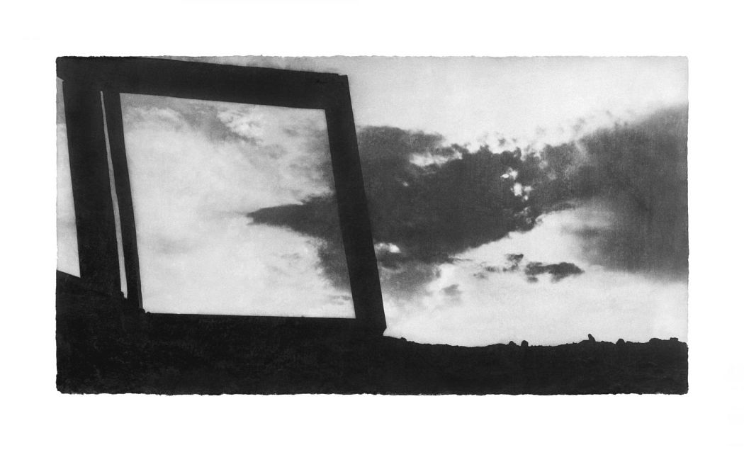 Wind 07-78, 2007 Gelatin silver print on hand-coated Korean Mulberry Paper