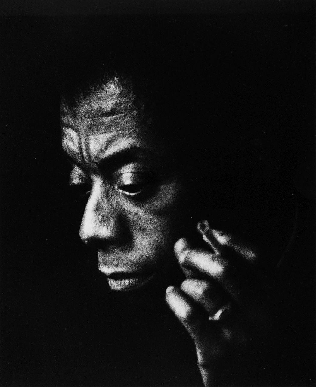 Maria Austria, Der amerikanische Schriftsteller James Baldwin Amsterdam 1965 © Maria Austria / Maria Austria Instituut
