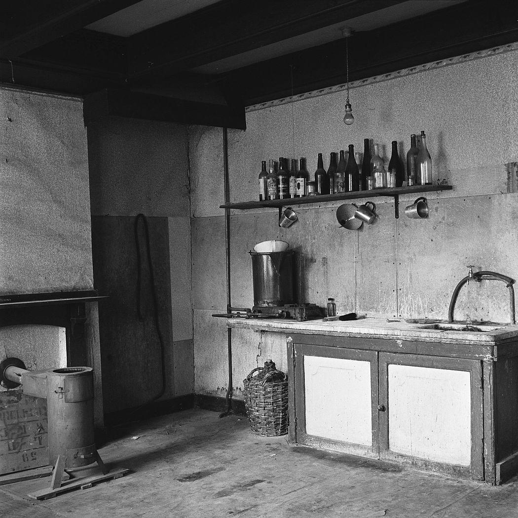 Maria Austria, Het Achterhuis, Raum der Familie Pels Prinsengracht 263, Amsterdam 1954 © Maria Austria / Maria Austria Instituut