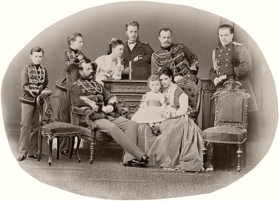 Family of Emperor Alexander II of Russia