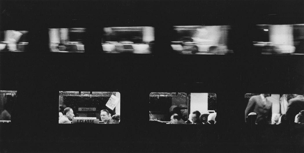 Sante Vittorio Malli Treni (Trains), 1957 Gelatin silver print; printed c.1957