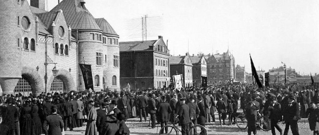Vintage: Street Views of Sweden (1900s)