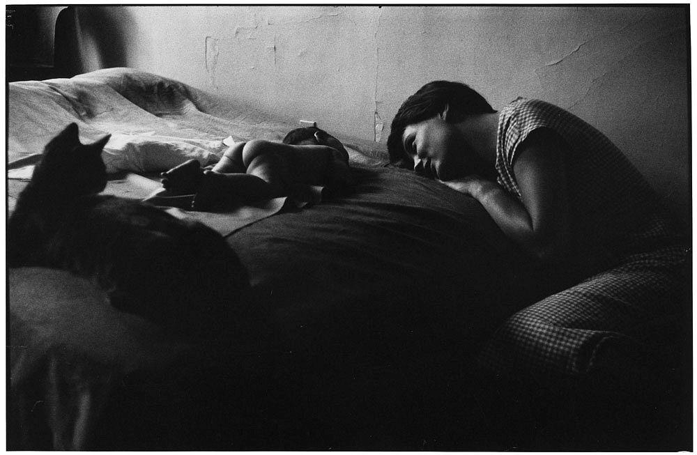 Elliott Ewritt New York City (Mother and Baby), 1953