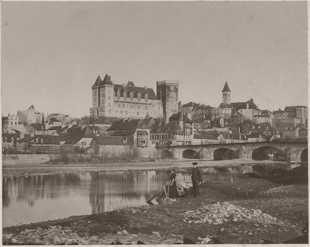 [Chateau de Pau], British, 1854