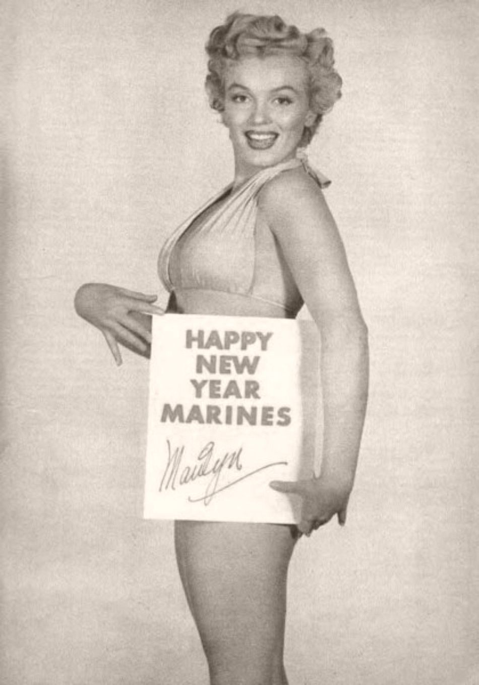 Marilyn Monroe New Years Quotes: Vintage: American Actresses Greeting New Year's Eve
