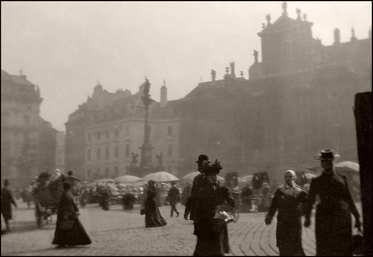 Vienna, Early Morning on the Market. (1903)