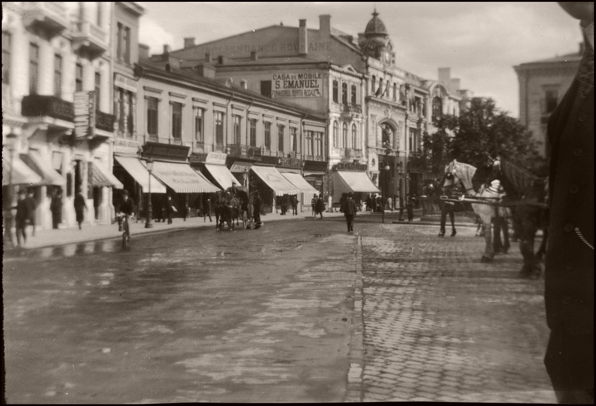 Town in Romania (probably Bucharest)