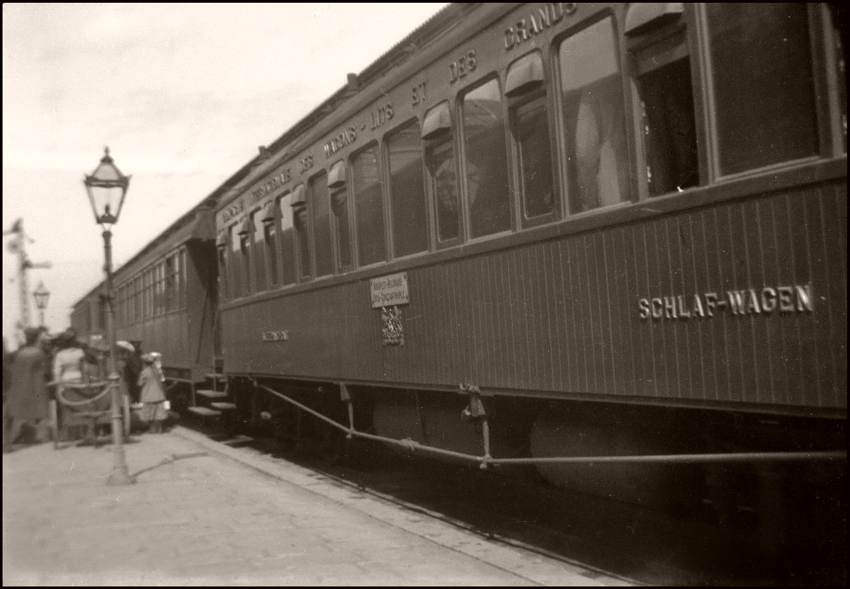 Orient Express Budapest-Constantinople (1903)