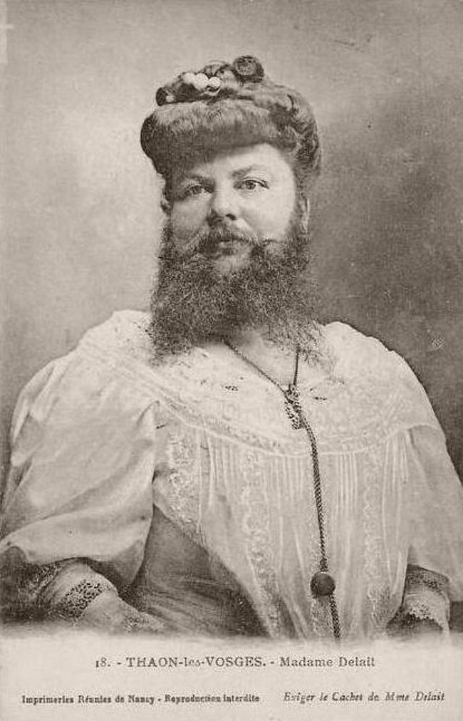 Clémentine Delait - French bearded lady