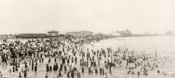 Vintage: Coney Island, New York City (1900s)