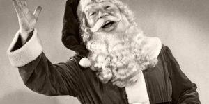 Vintage: Santa Claus in the past