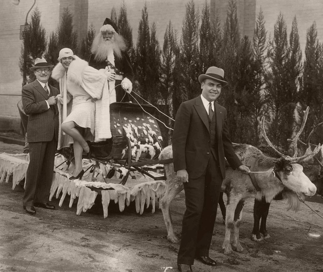 Vintage: Santa Claus in the past