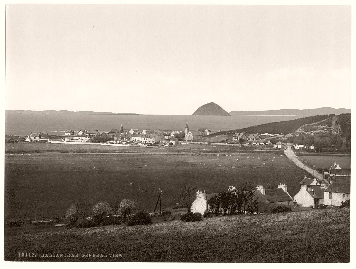 General view, Ballantrae, Scotland