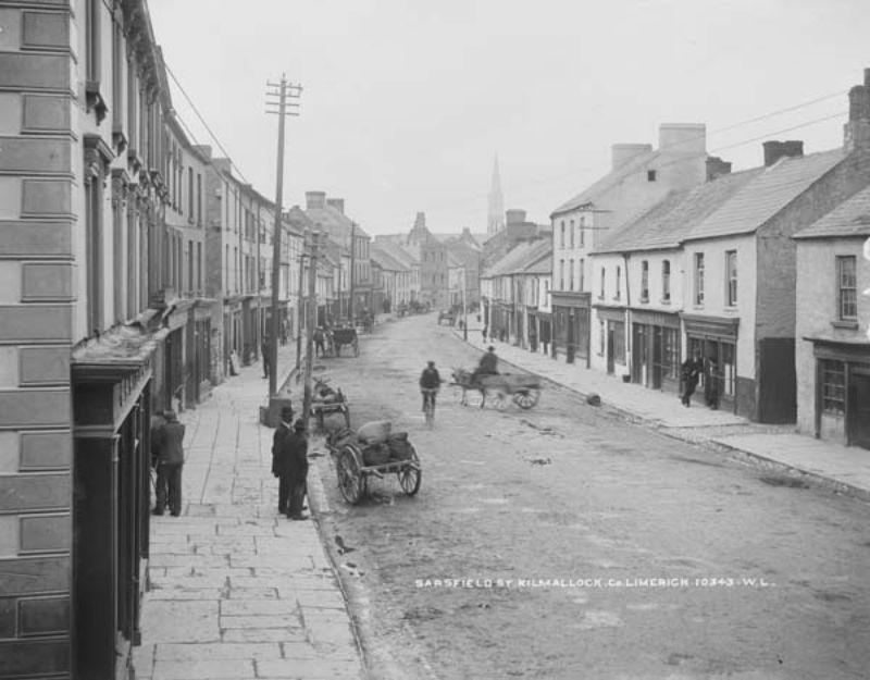 Vintage: Street Scenes of the Munster Region, Ireland (late XIX Century)
