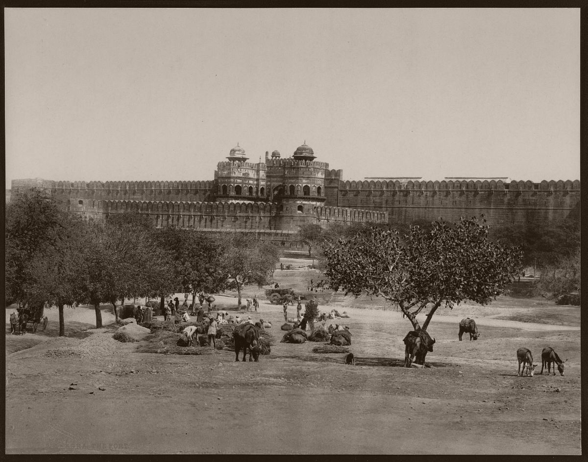 Agra. The Fort