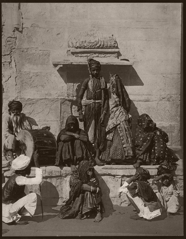 North of India. Bride and Bridegroom