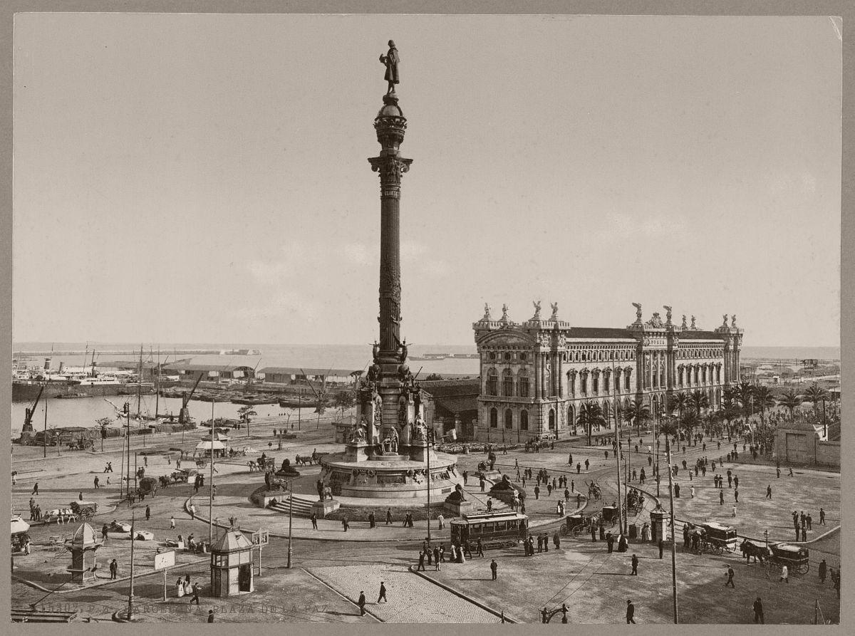 Barcelona. Plaza de la Paz