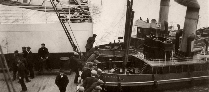 Vintage: Titanic before Its Sinking in 1912