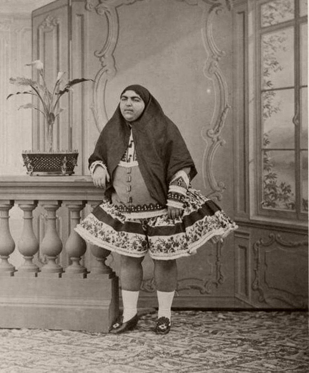 Zahra Khanom Tadj es-Saltaneh - Persian princess