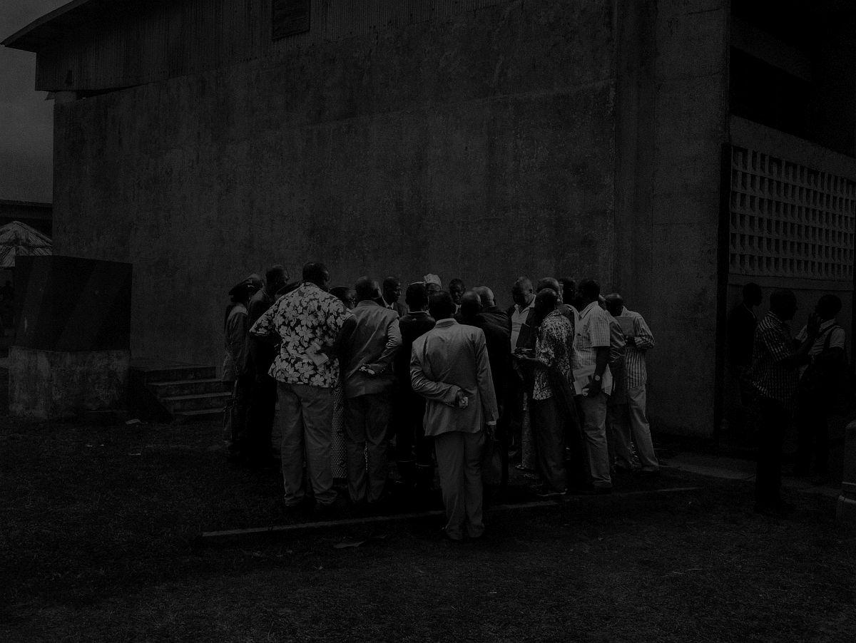 République du Congo, 2013, Scene #5370, Rassemblement des élus locaux à Pointe Noire. Alex Majoli / Magnum Photos