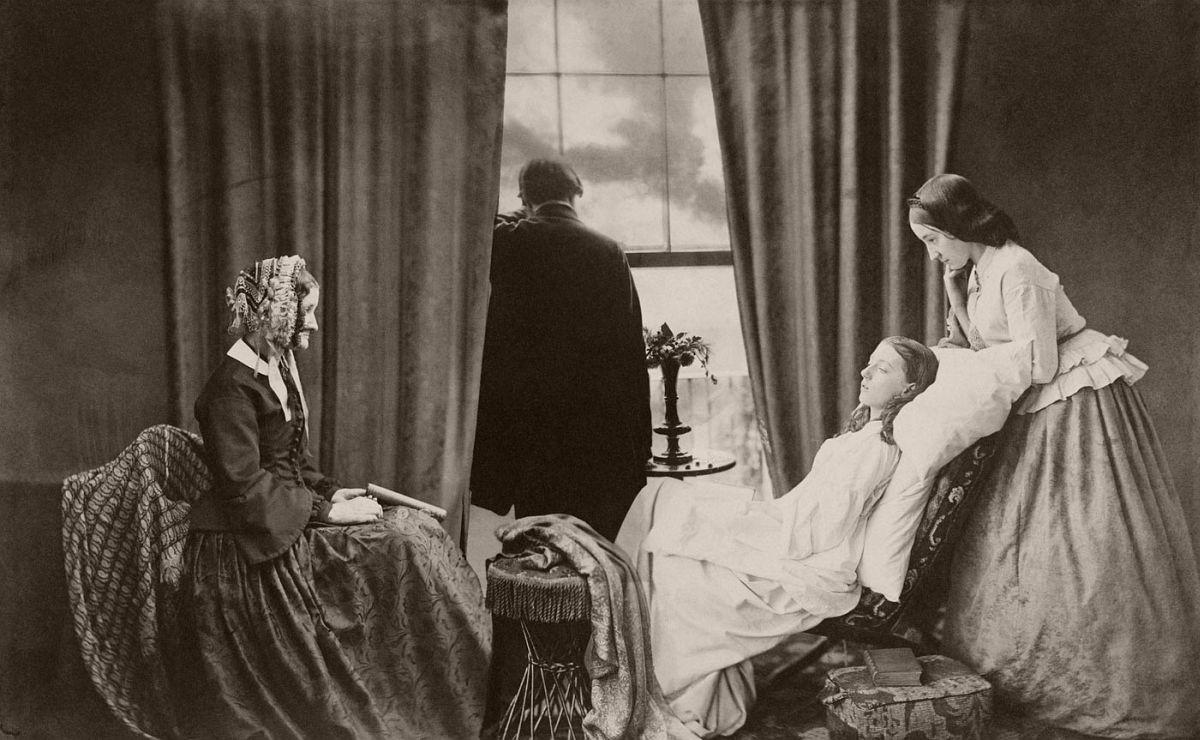 Fading Away (1858)