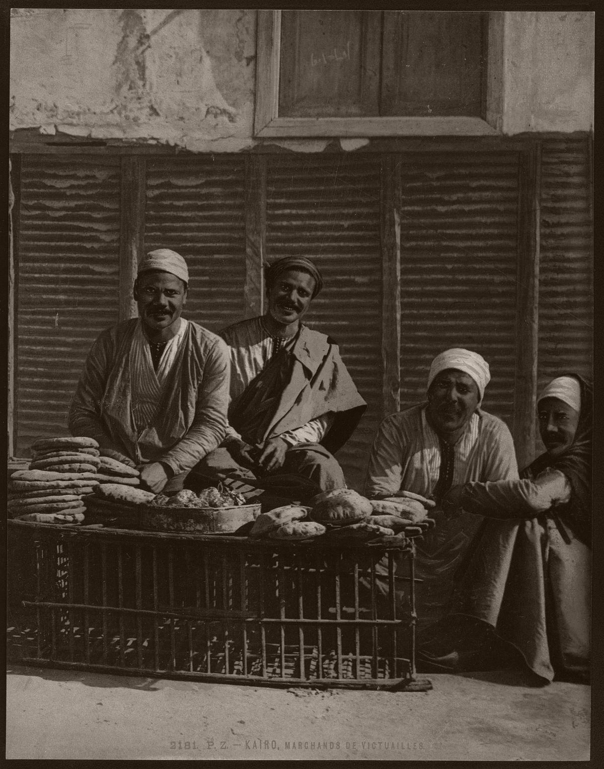 Kairo, marchands de victuailles