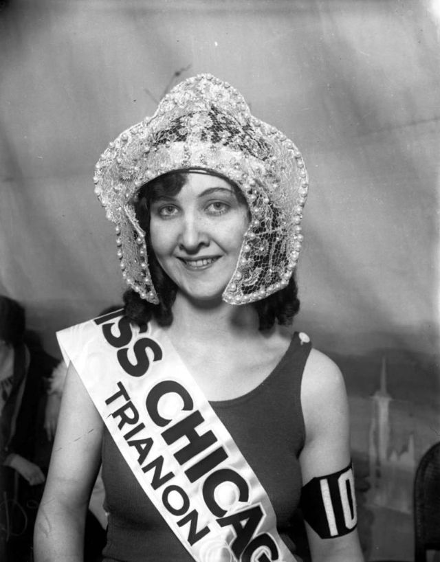 On Aug. 2, 1926, Mae Greene, 18, was chosen as Miss Chicago 1926 out of 4,000 rivals at the Trianon Ballroom in Chicago