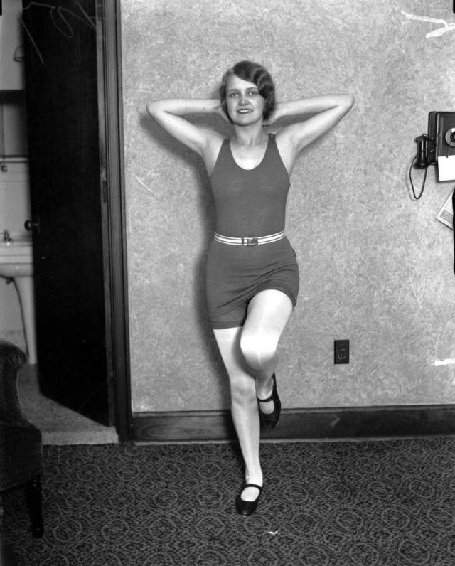 Miss America Lois Delander, 16, Oct. 11, 1927