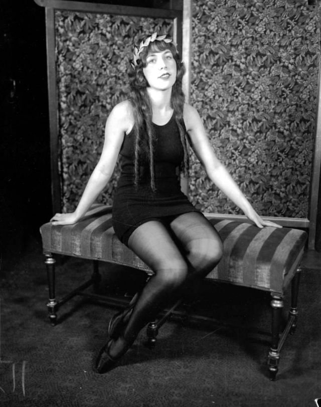 Miss Chicago of 1925, Margarita Gonzales, circa 1925. Gonzales was a candidate for the national title at the Atlantic City beauty contest in 1925, but was eliminated in the first round