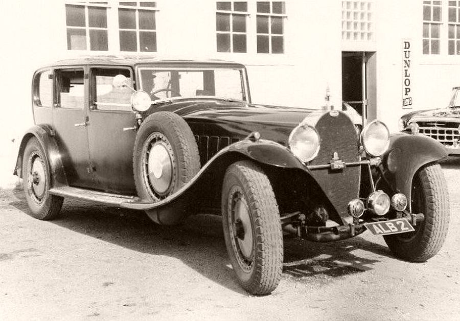 1931 Bugatti Type 41 Royale Limosine body by Park Ward