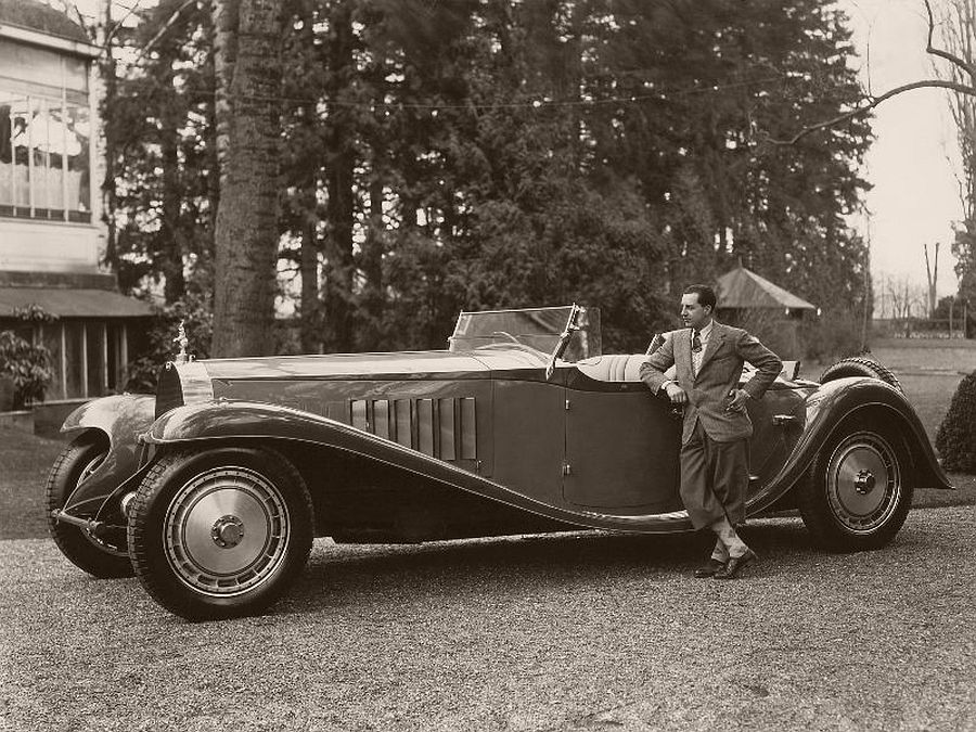 1932 Bugatti Type 41 Roadster Esders