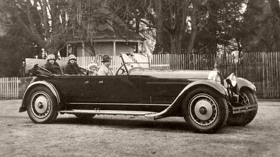 1927 Bugatti Type 41 Royale Prototype body by Packard